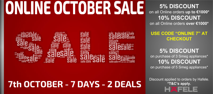 Online October Sale