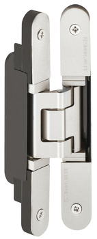 3D Hinge, Simonswerk TECTUS TE 240 3D N, concealed, For flush doors up to 60 kg