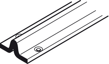 Bottom Track For Sliding Interior And Exterior Doors Straightaway Hafele Ireland Shop