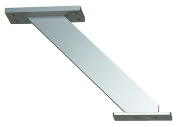 Breakfast Bar Support, Inclined, for Worktop Mounting