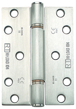 Butt Hinge, 3 Knuckle, 100 x 75 mm, Stainless Steel, Hi-Load