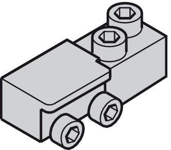 Cable fixing block, Classic Synchro