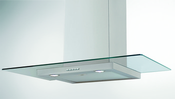 Chimney Hood, Condor R2 Flat Glass