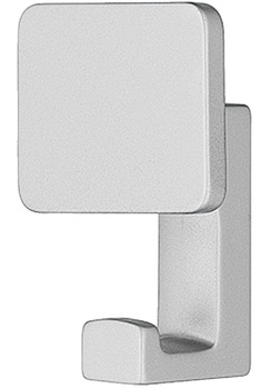 Coat Hook, Zinc Alloy, 31.5 x 64 mm
