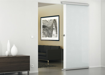 Complete Set, for Sliding Glass Interior Doors, Slido Design 80-M