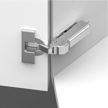 Concealed Cup Hinge, 110°, for 45° Angle, Click on Arm, Tiomos
