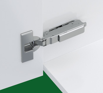 Concealed Cup Hinge, 95° Standard, for Up to 36 mm Thick Doors, Full Overlay Mounting, Click on Arm, Tiomos