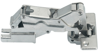 Concealed Cup Hinge, Häfele Metallamat A/SM 175°, half overlay mounting/twin mounting