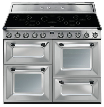 Cooker, Induction, Traditional, Four Cavity, Induction Hob, 1100 mm, Smeg Victoria