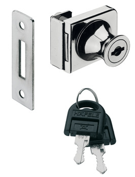 Door DeadBolt Lock, for Glass Door Thickness: 4–8 mm, Standard Profile, Glass, Econo