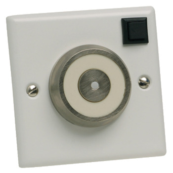 Door Retainer, Electro-Magnetic, Flush Mounted, Holding Strength 200N, Strengthened Aluminium