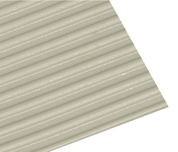 Drawer Insert Mat, Grooved, 1.5 mm Thick, 500 mm Wide, Polystyrene