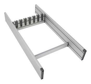 Drawer Insert System, Flex Basic, Aluminium