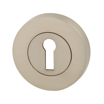 Escutcheons, Standard Keyway, Ø 53 mm, Zinc Alloy