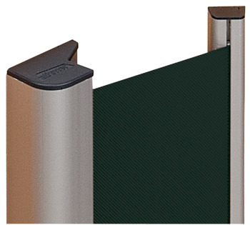 Finger Protection System, Blind, Length 1925 mm, Aluminium and Synthetic Fibre, Athmer NR-30