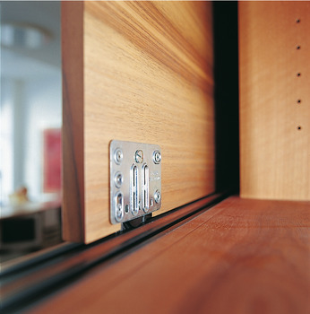 Fitting Set, for Sliding Cabinet Doors, Hawa-Miniroll
