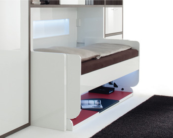 Foldaway Bed Fittings, Tavoletto, bed/desk fitting