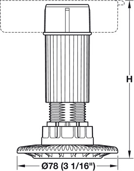 Foot and Shaft Section