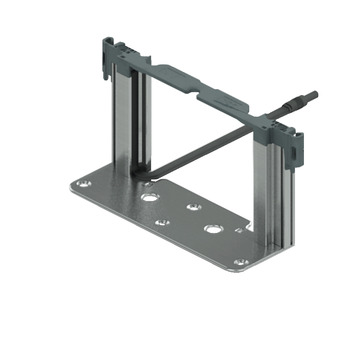 Frame Set, Bottom, for Single Drawer Installations, for Sensomatic Drawer Opening System