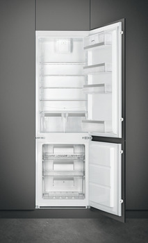 Fridge Freezer, Built-in, In Column, Total Capacity 280 Litres, Smeg