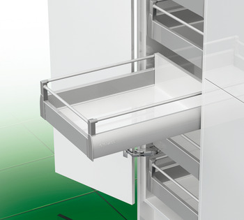 Front Panel and Round Railing Set, for Nova Pro Deluxe Standard Internal Pan Drawer