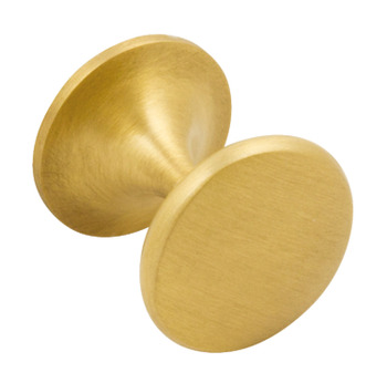 Furniture Knob, Brass, Ø 32 mm, Chloeu