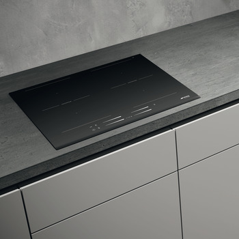 Hob, Electric Induction, 600mm, Slider Touch Control Multizone, Smeg