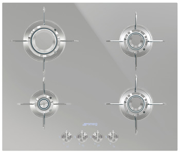 Hob, Gas, 600 mm, Four Burners, Smeg Dolce Stil Novo