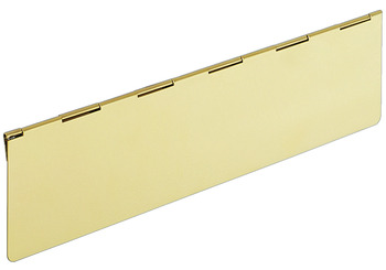 Interior Flap, 330 x 80 mm, Stainless Steel or Brass, Startec