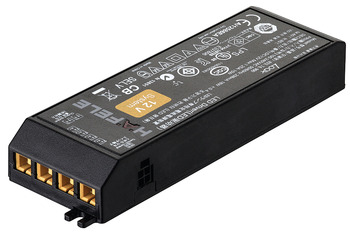 LED Driver 12 V, for 1-6 Lights, without Mains Lead, Rated IP 20, Loox