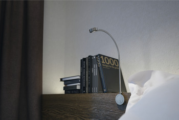 LED Flexible Reading Light 12 V, Ø 36 mm, for Surface Mounting, Loox LED 2035