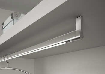 LED Wardrobe Rail Light 12 V, Rated IP20, Length 840-1140 mm, Loox Compatible LED Goccia