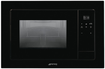Microwave Oven, Built in, with Electric Grill, 850 W, Smeg Linea