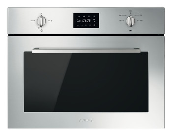 Microwave Oven, Compact, 600 mm, Smeg Cucina