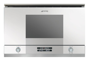 Microwave Oven, with Electric Grill, Depth 320 mm, Smeg Linea