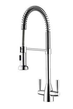 Mixer Tap, Twin Lever, Clearwater Tutti Pro