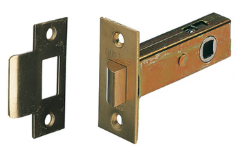 Mortice Latch, Tubular, Heavy Duty, Latchbolt Operated by Lever Handles