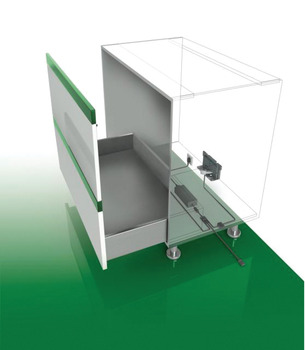 Opening Unit , for More than One Drawer, Grass Sensomatic