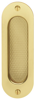 Pull Handle, Flush, 120 x 40 mm, Brass, FSB