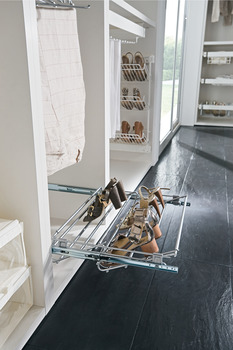 Pull Out Shoe Rack, Width Adjustable 564-1000 mm