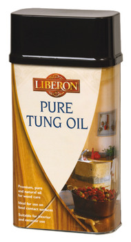 Pure Tung Oil, Size 250 ml - 5 Litre, for Wood Care