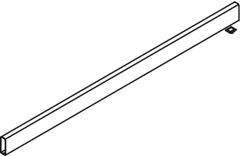 Round Divider Rail, 1100 mm, to Cut to Length, for use with Round Gallery Railing