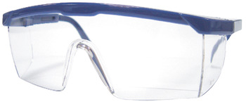 Safety Glasses, Wraparound, Scratch Resistant