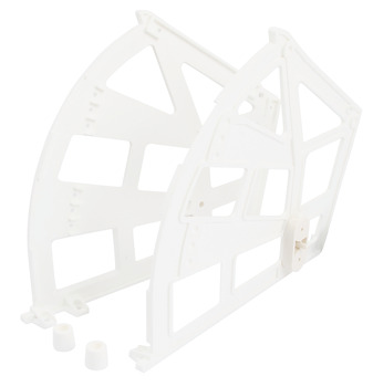 Shoe Rack Fitting Set, Suitable for 3 Shelves
