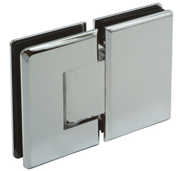 Shower Door Hinge, Glass to Glass Hinge 180°