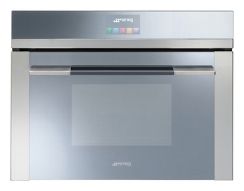 Single Oven, Compact, Combination Steam, 600 mm, 12 Functions, Smeg Linea