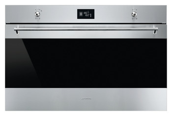 Single Oven, Multifunction, Finger-Friendly, 10 Functions, 900mm, Smeg Classic
