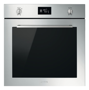 Single Oven, Pyrolitic Multifunction, 600 mm, Smeg Cucina