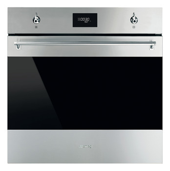 Single Oven, Pyrolitic Multifunction, Finger-Friendly, 600 mm, Smeg Classic