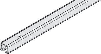 Top Track, for Sliding Cabinet Doors, Eku Clipo 15 H Inslide